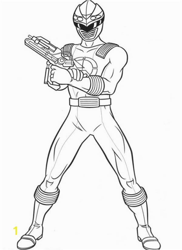 kleurplaat power rangers ninja steel