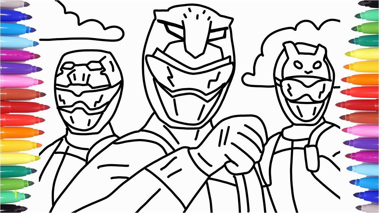 power rangers colorir