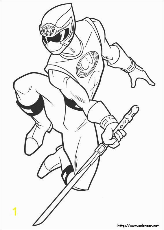 power rangers ninja steel to cut coloring page