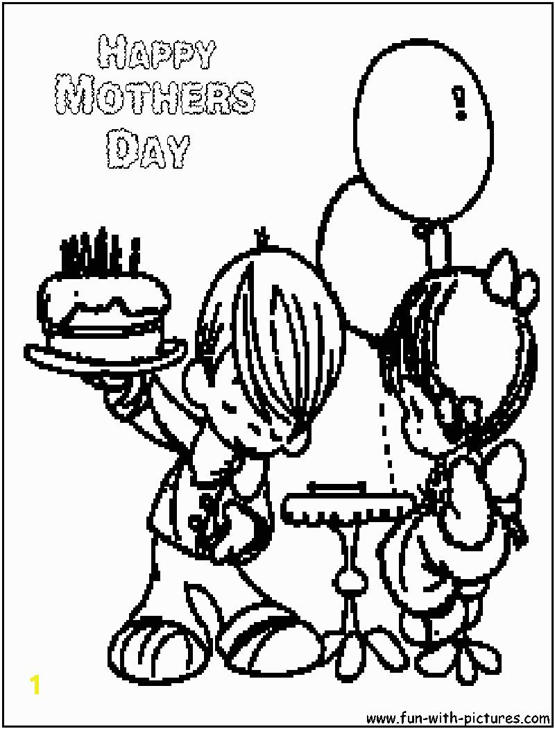 preciousmoments happymothersday coloring page