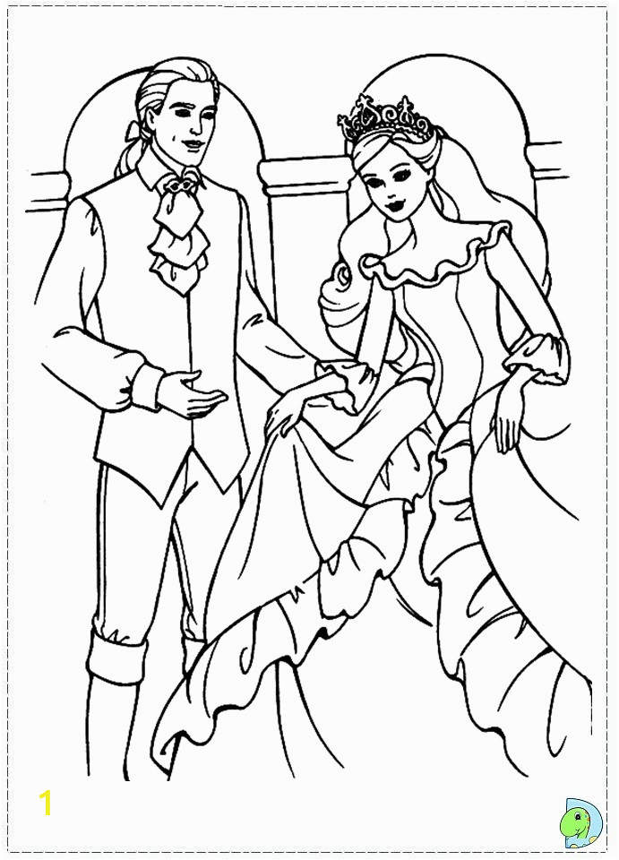 014 coloringBarbie princess pauper 17