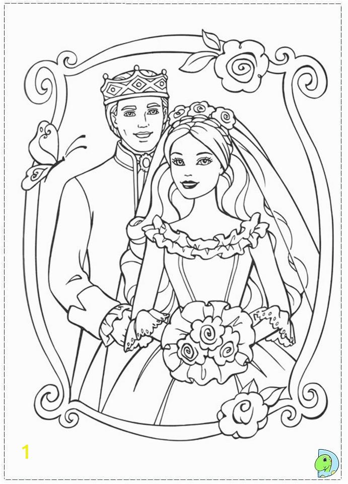 014 coloringBarbie princess pauper 10