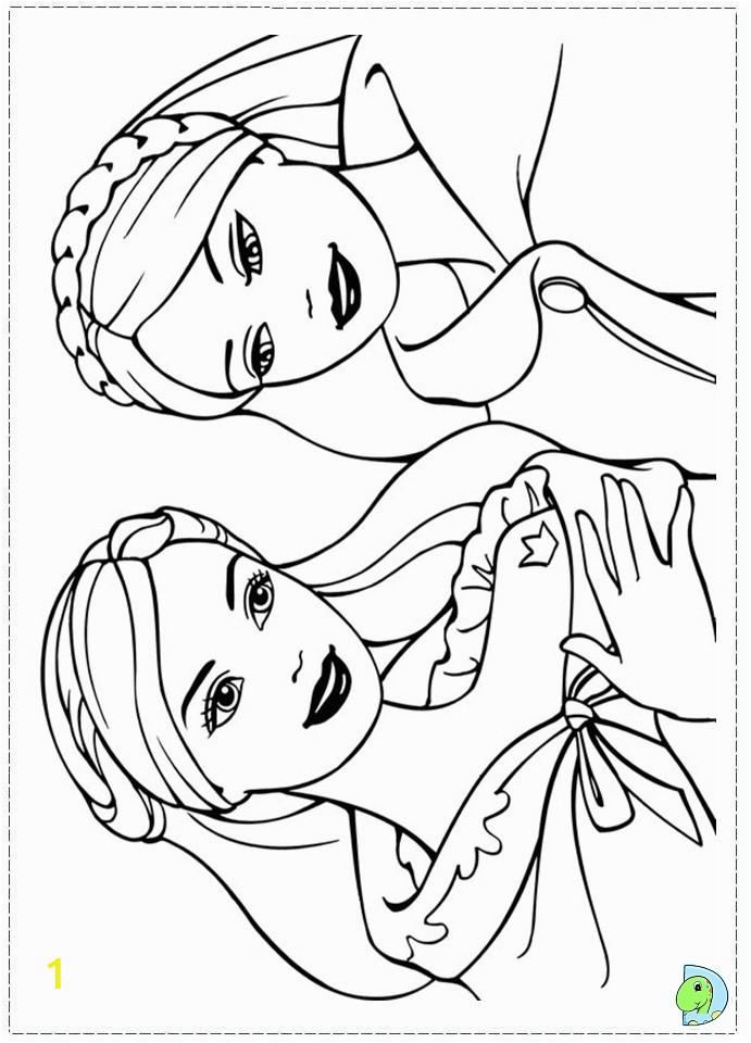 014 coloringBarbie princess pauper 14