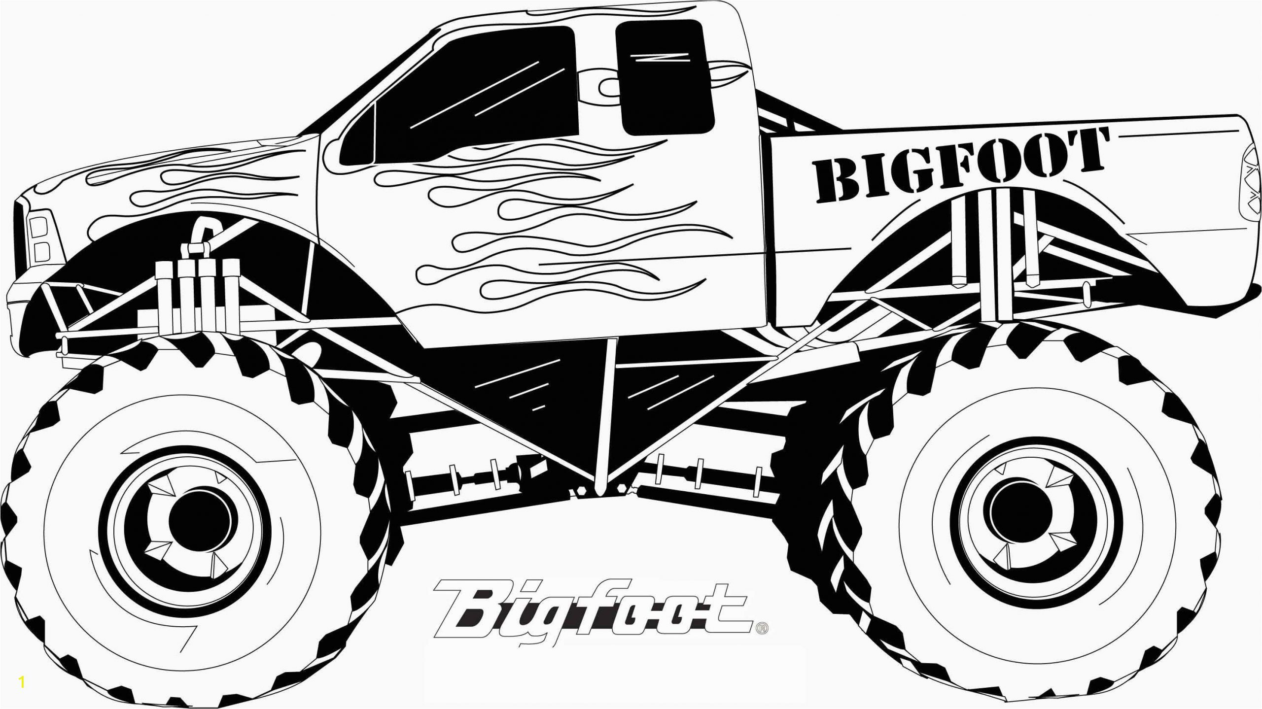 insider coloring pages trucks monster to print for kids coloring bigfoot car