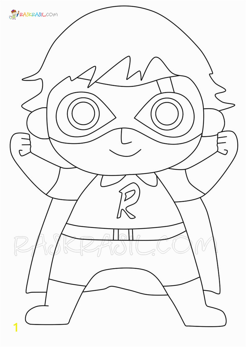 ryan coloring pages for kids ryan s