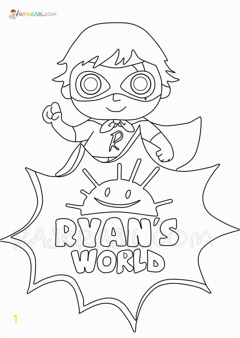 ryans world coloring pages