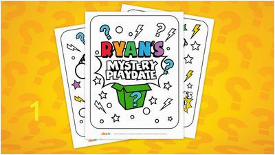 ryans mystery playdate colouring