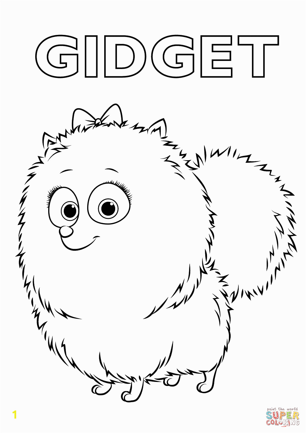 gid from the secret life of pets