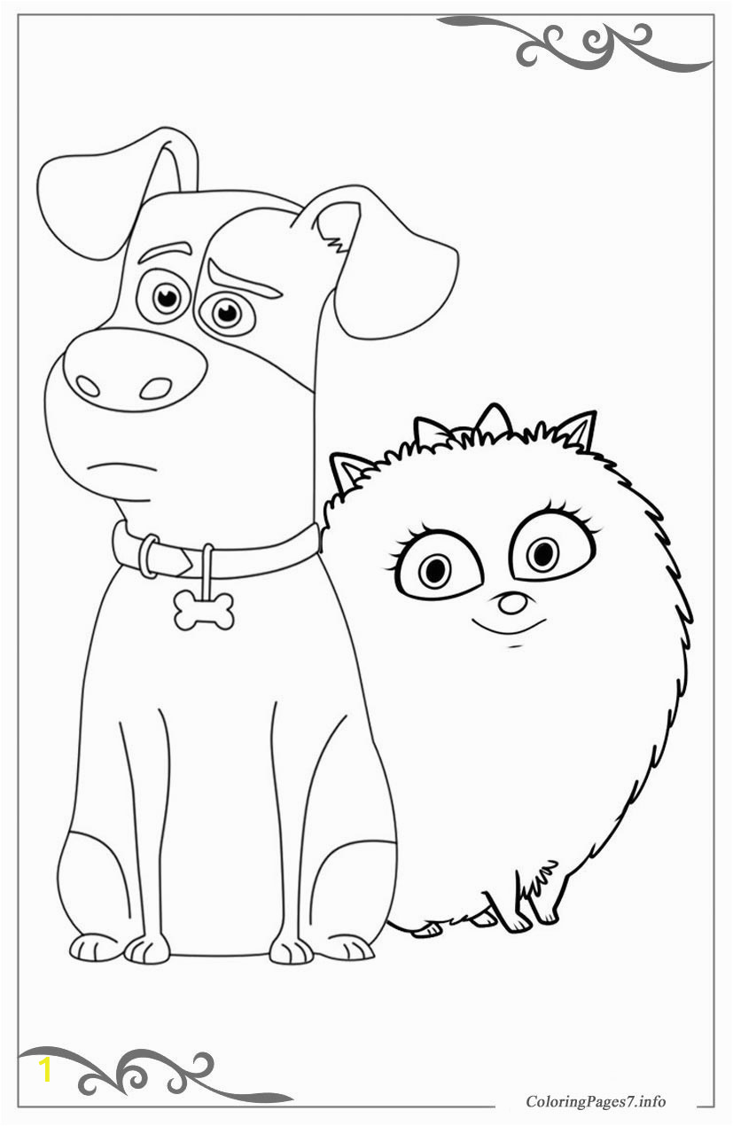 The Secret Life of Pets coloring 20