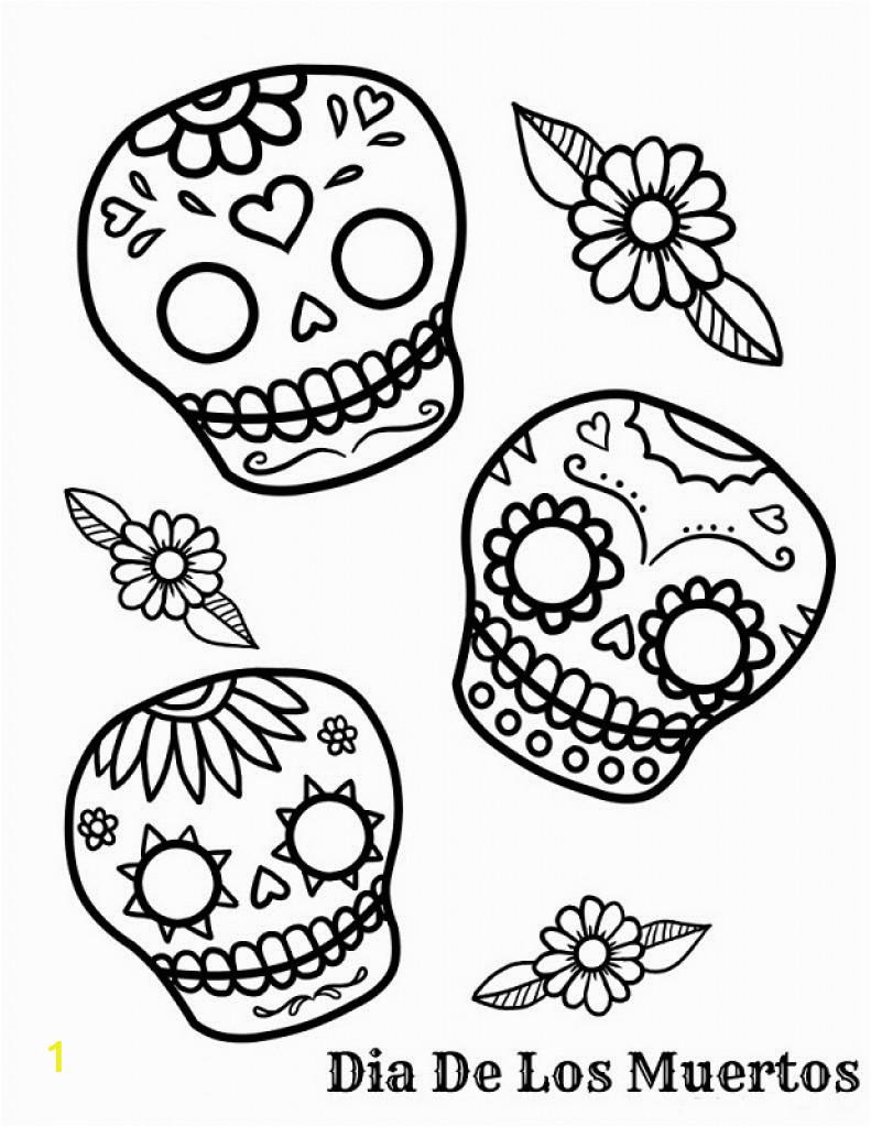 image=dia de los muertos day of the dead Coloring for kids dia de los muertos day of the dead 1