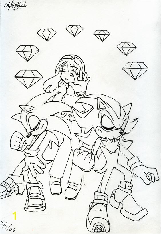 chaos emeralds coloring pages sketch templates