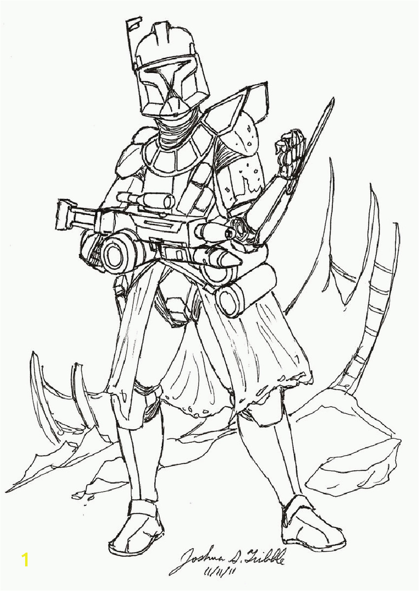 free coloring pages captain rex