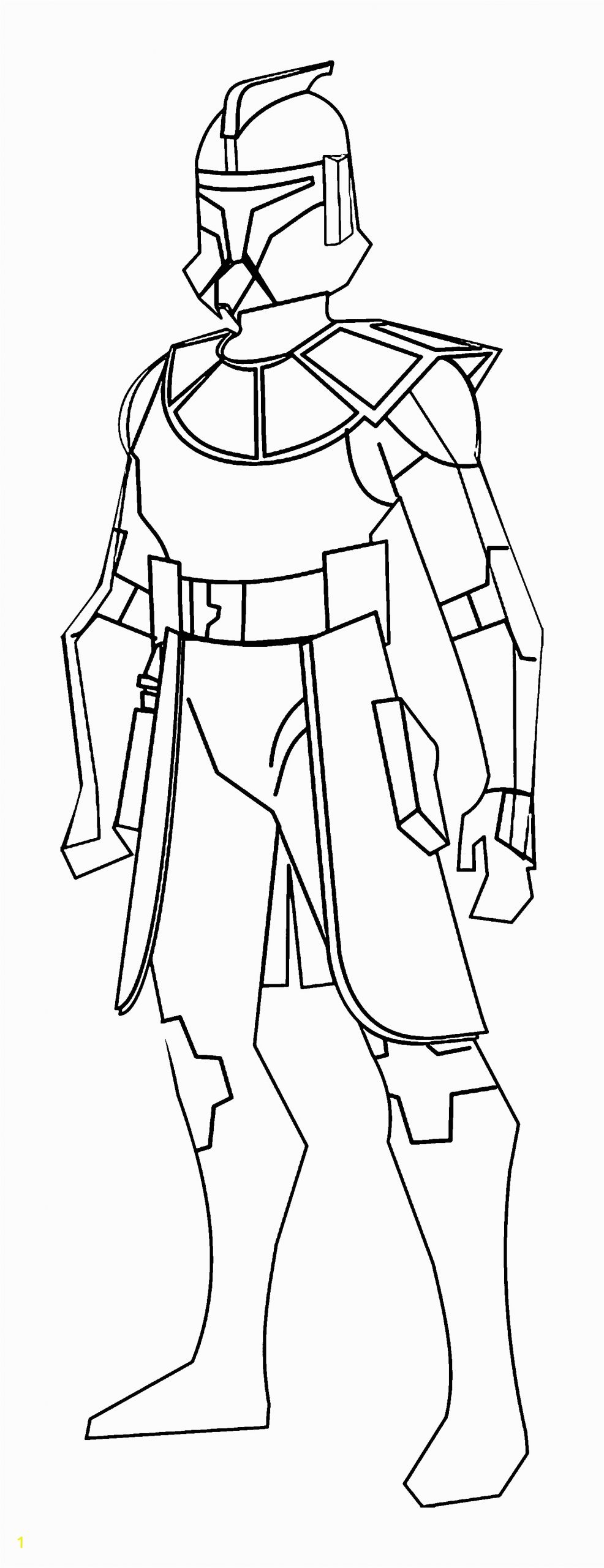 trooper coloring page