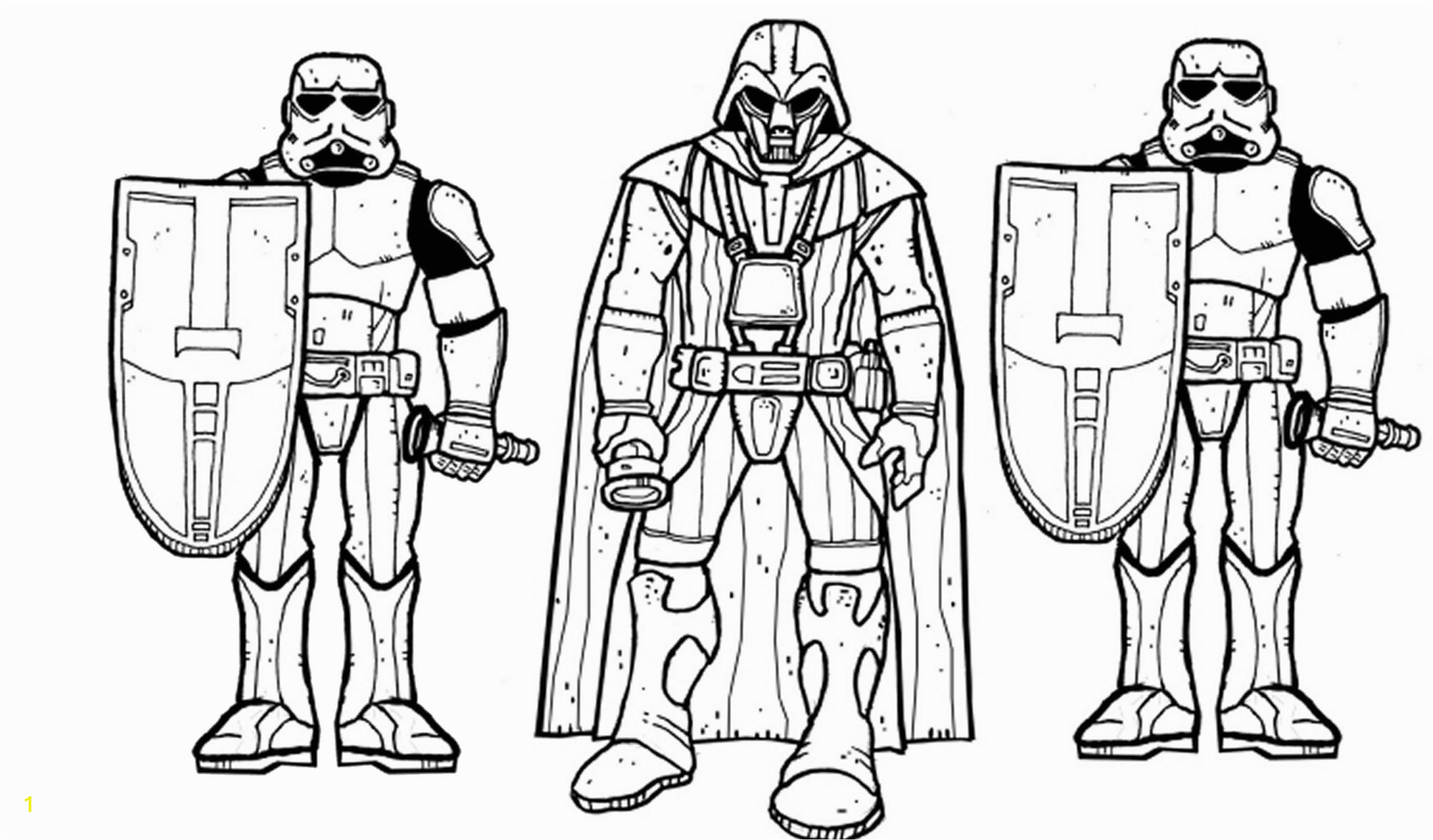darth vader coloring pages