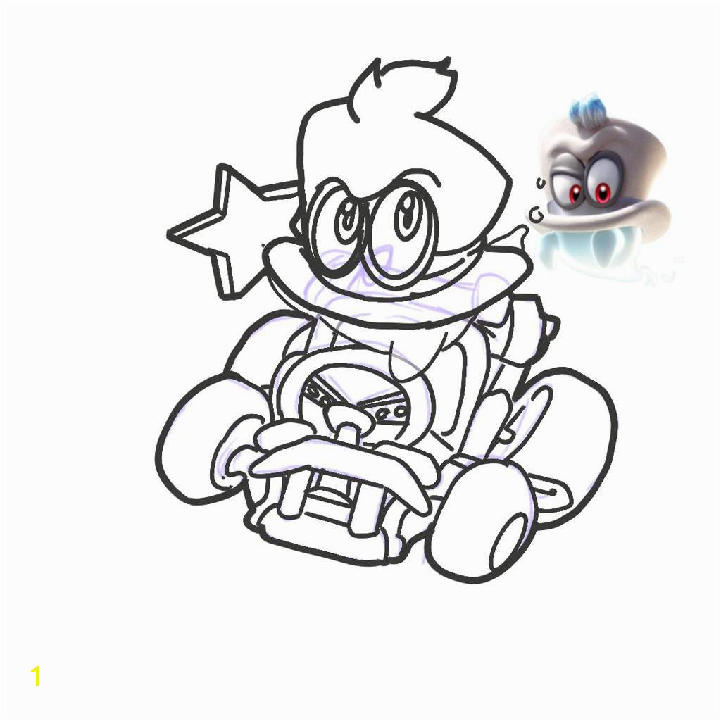 lovely mario bad guys coloring pages