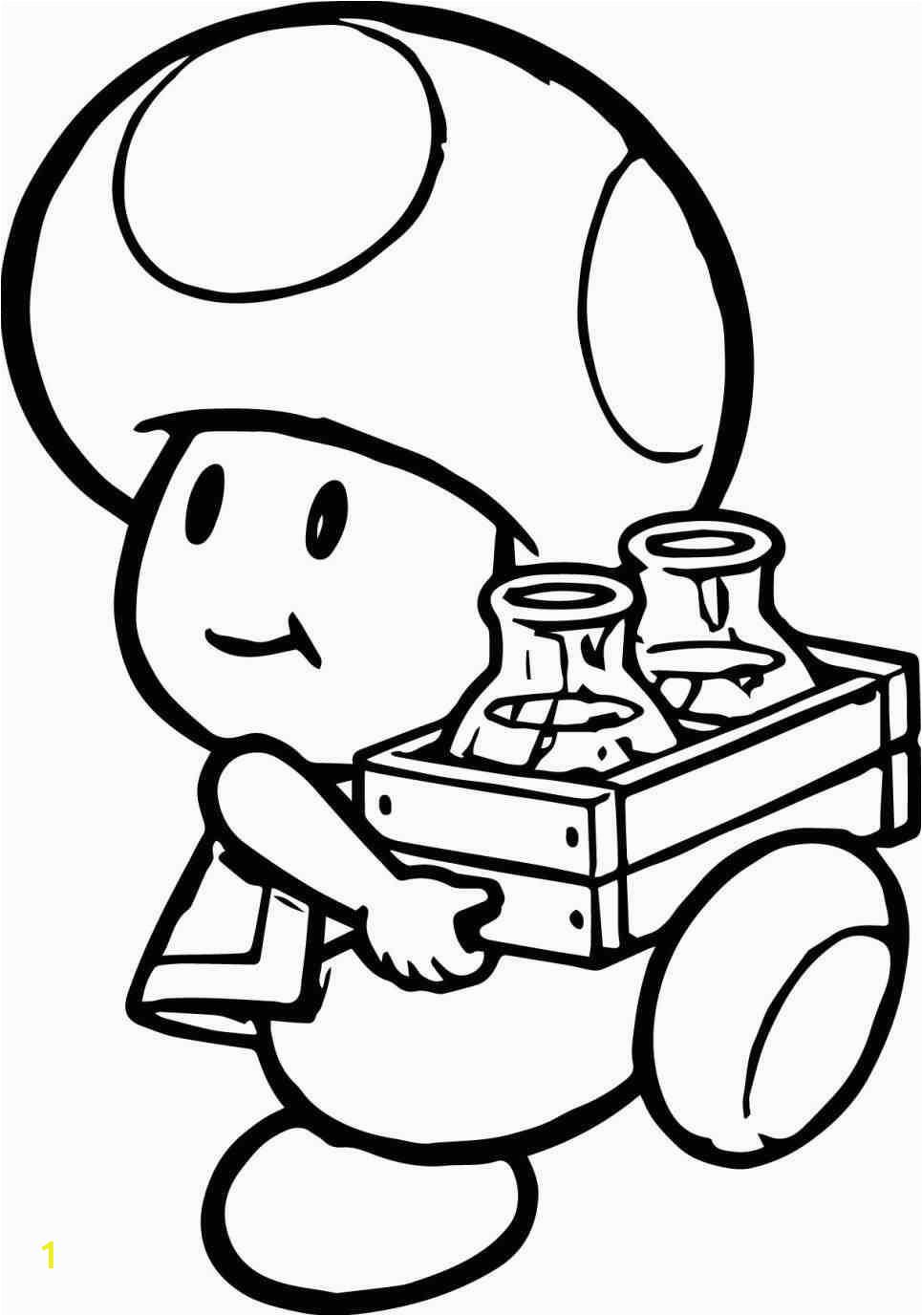 toad mario drawing