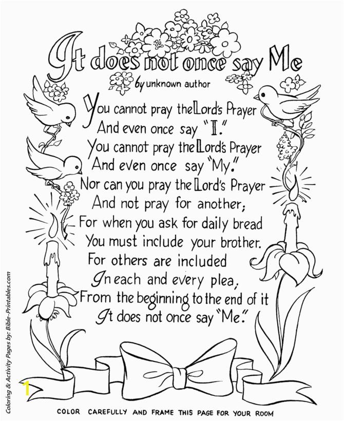 Lords Prayer 123