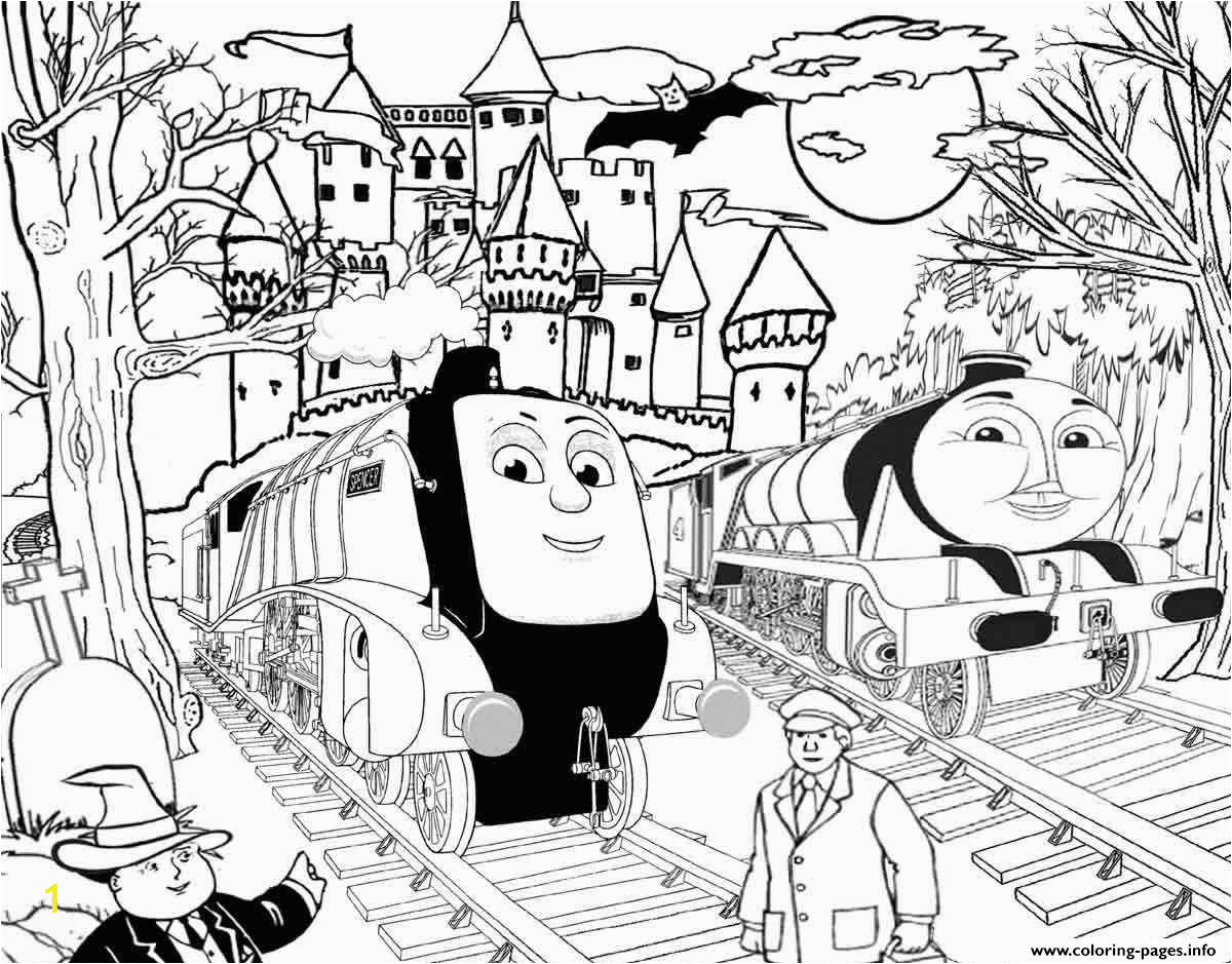 spencer and gordon halloween thomas the train s to printd359 printable coloring pages book 6333