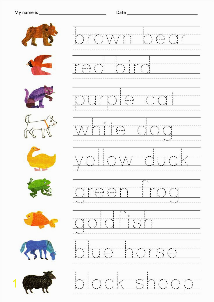 alphabet animal color sheets from monday morning books