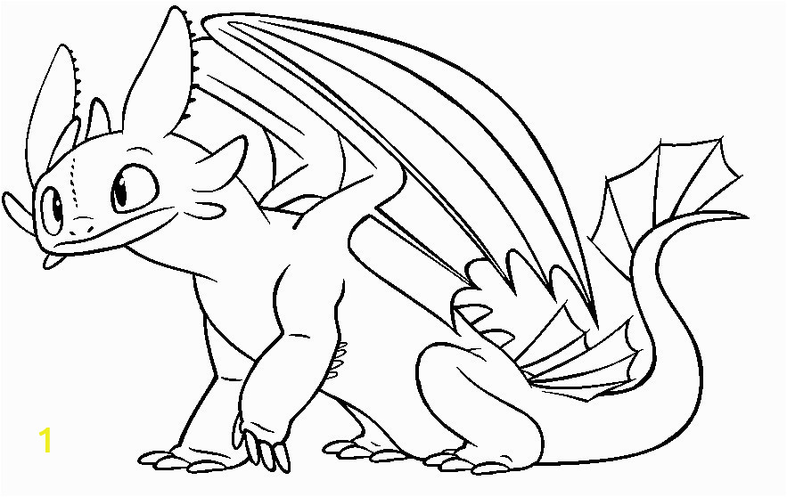 how to train your dragon coloring pages toothless