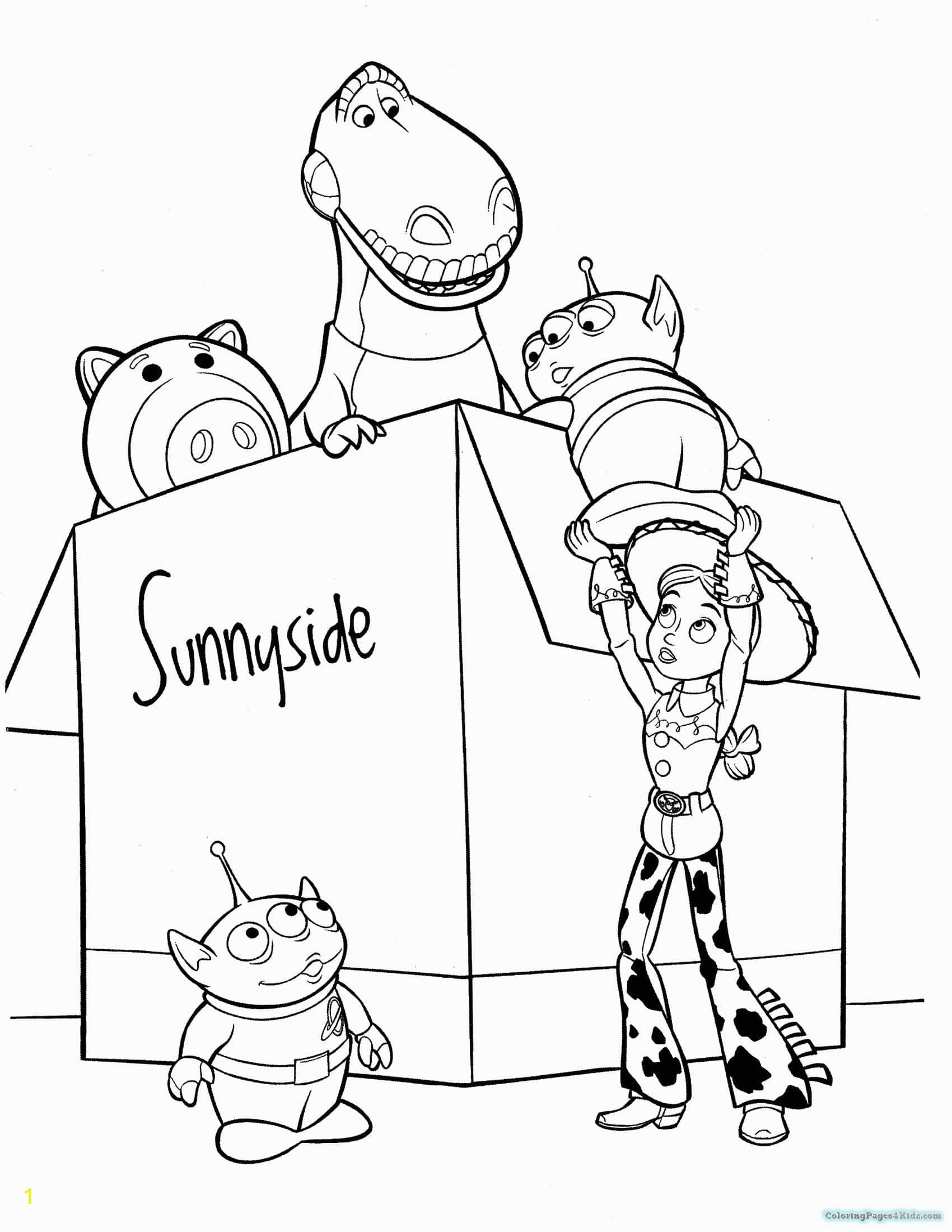 disney toy story coloring pages 1047