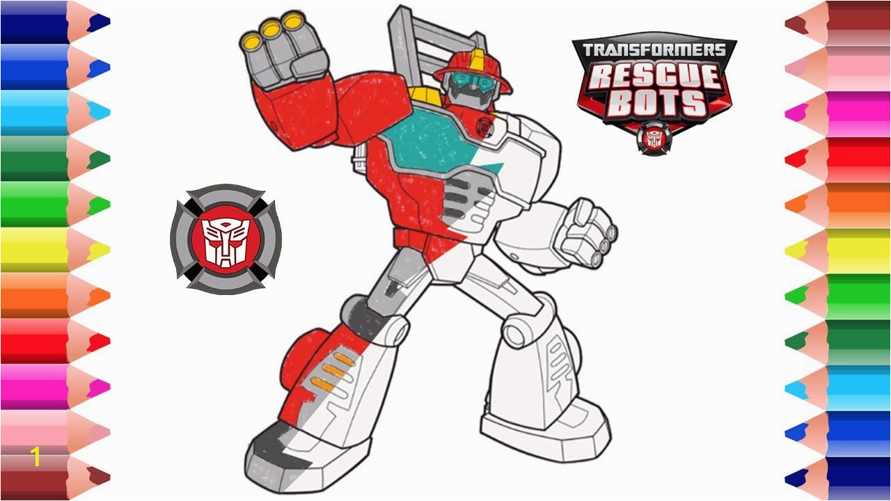 31 rescue bot coloring pages