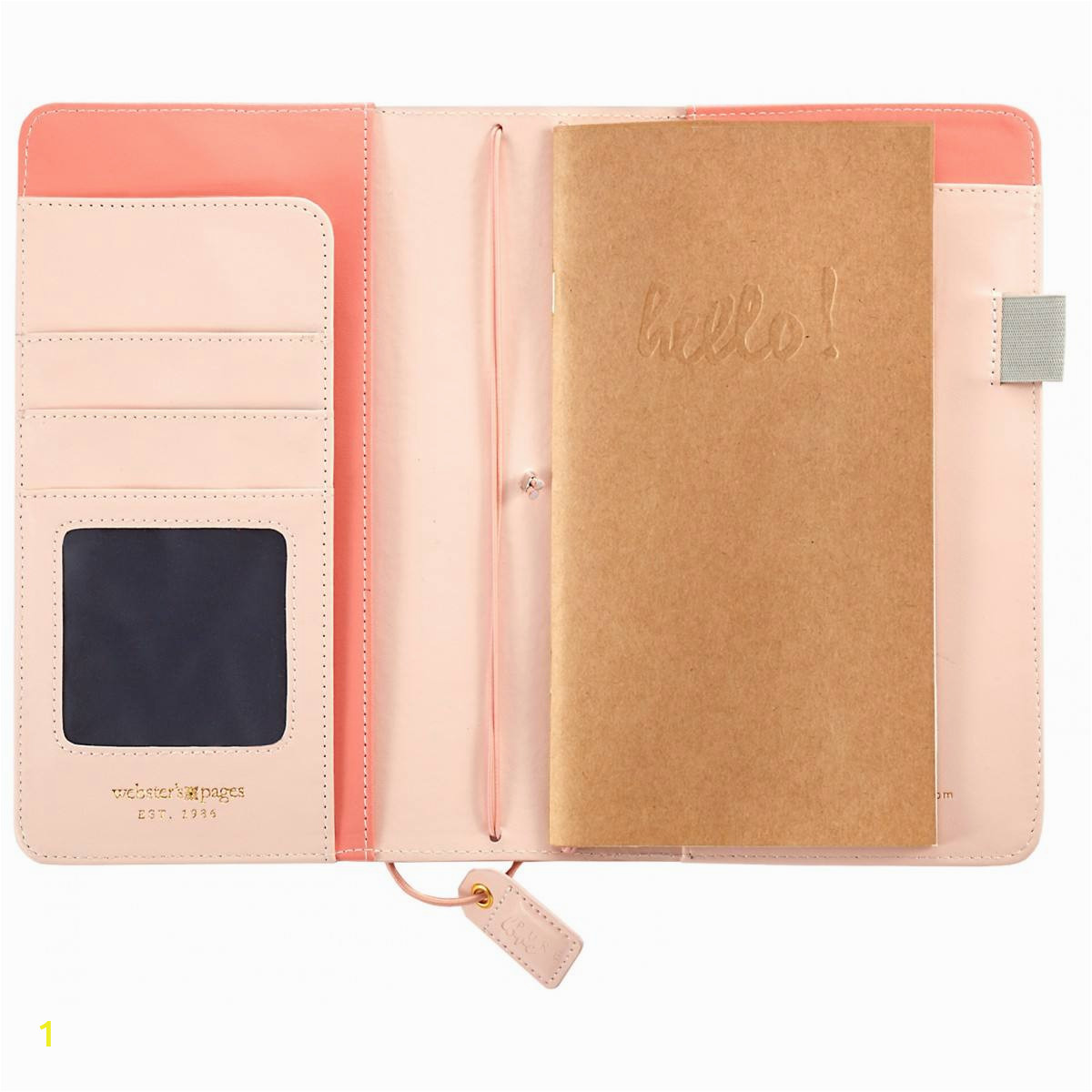 websters pages color crush travelers notebook planner blush pink 2651