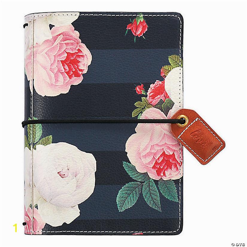 websters pages color crush pocket travelers notebook planner 4 25x6 black floral a2 fltr