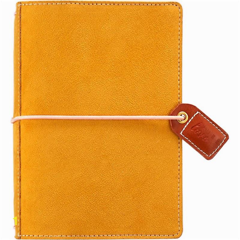 mustard suede color crush pocket traveler s planner 425x6 webster s pages