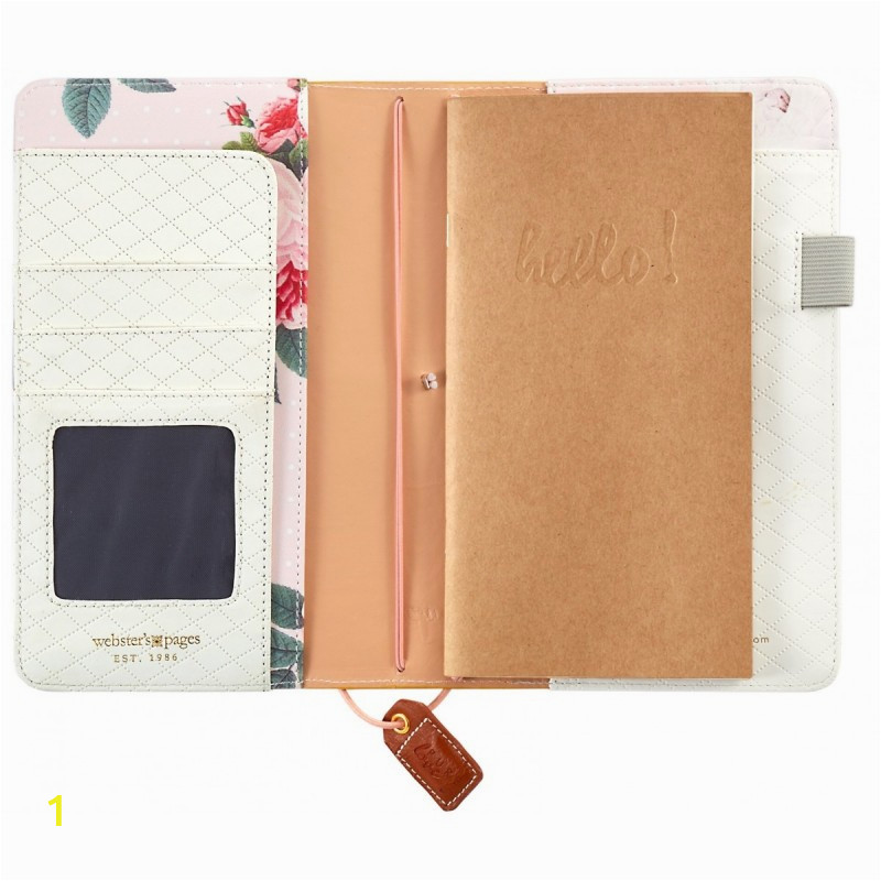 webster s pages mustard suede travelers color crush planner