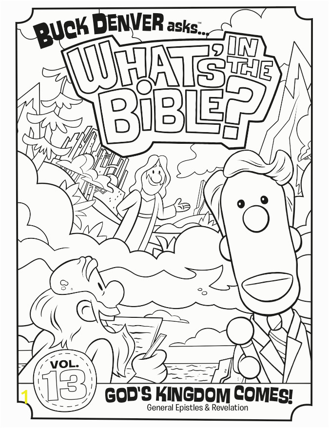 volume 13 general epistles and revelation dvd coloring page