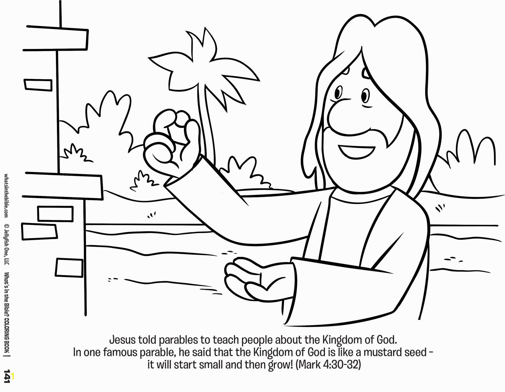 buck denver asks whats in the bible coloring book