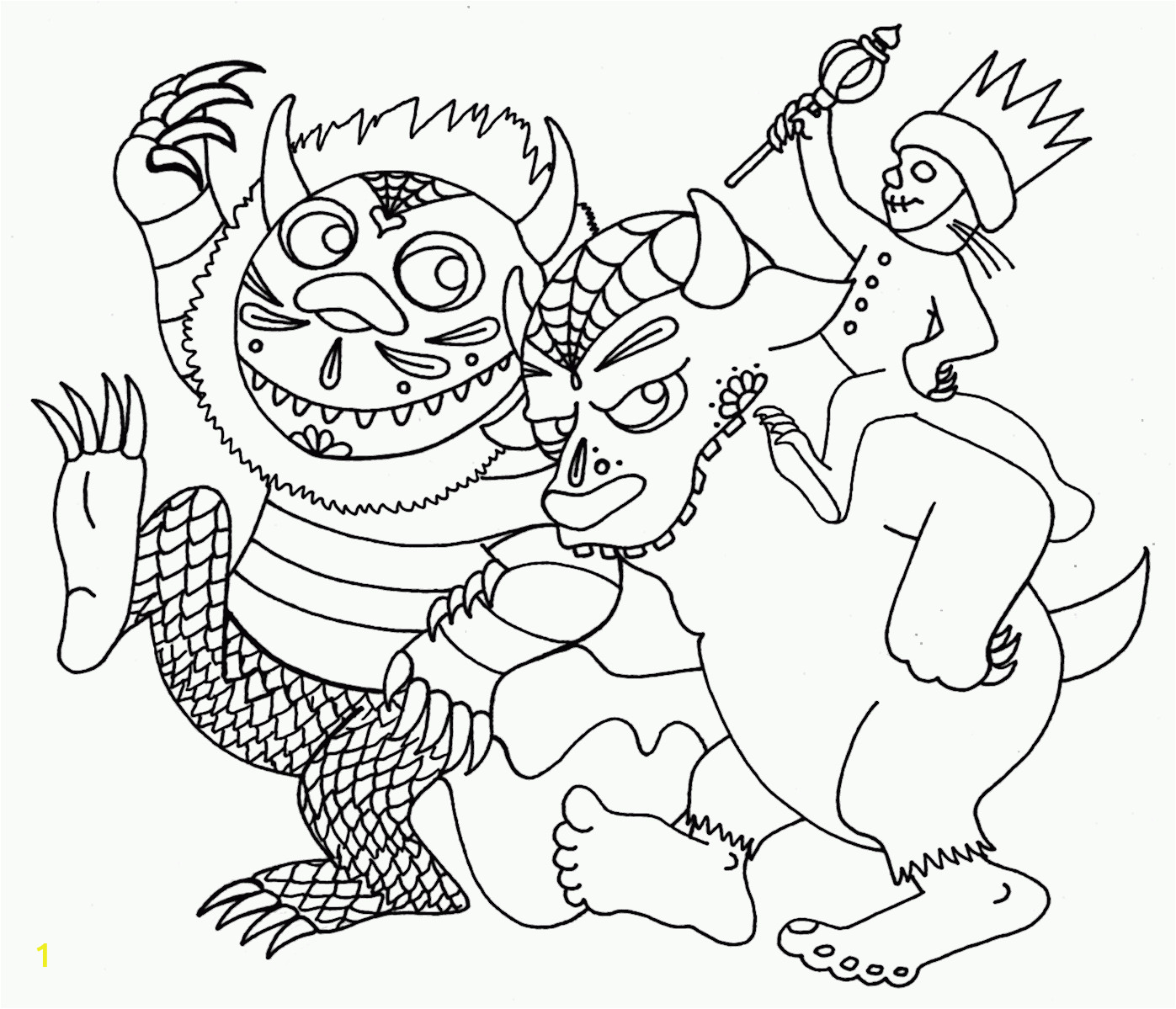 Where the Wild Things are Printable Coloring Pages where the Wild Things are Printable Coloring Pages