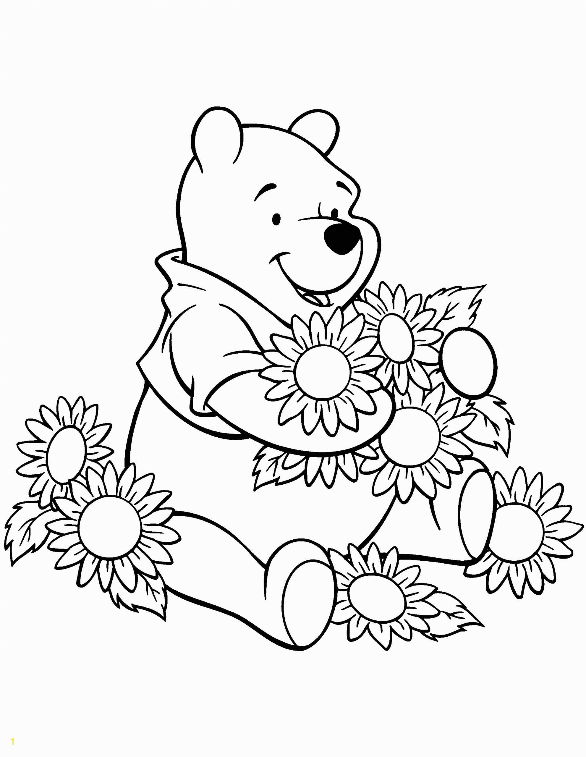coloring pages winnie the pooh classic