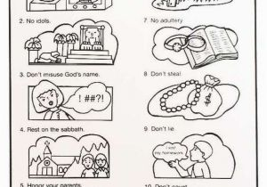 10 Commandments Coloring Pages 16 Best 10 Mandments Coloring Pages