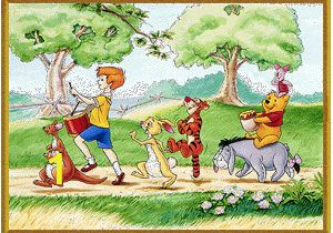 100 Acre Wood Wall Mural Pictures Of Hundred Acre Wood