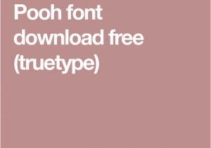 100 Acre Wood Wall Mural Pooh Font Free Truetype