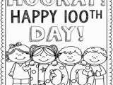 100 Days Of School Printable Coloring Pages 100 Day Coloring Pages at Getcolorings