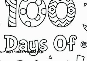 100th Day Of School Coloring Pages 100th Day School Coloring Page 100 Days School Poster Ideas