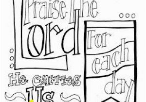 "11×17 Coloring Pages Free Printable Scripture Coloring Page ""praise the Lord for Each"