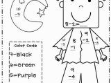 1st Grade Math Coloring Pages Free Halloween Worksheets for First Grade Lovely Collection 1st