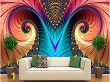 3 Dimensional Wall Murals Scmkd Personalized Customization Art Color Sculpture