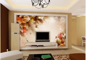 3d Abstract Wall Mural Custom Wallpaper 3d Abstract Fantasy Flower butterfly Fashion Tv Backgroundbackground Mural Wall Painting Living Room sofa Tv Backdrop