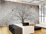 3d Big Tree Wall Murals for Living Room Retro Abstract Tree Branches Bird Murals Custom 3d Wallpaper Living Room sofa Tv Background Decor Mural Wall Paper Download Wallpaper
