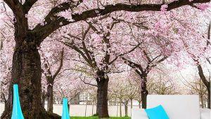 3d Cherry Blossom Wall Mural Custom Romance Pink Flower Tree 3d Wall Papers Cherry Blossom Wallpaper Murals for Tv Backdrop Wedding Room Papel De Parede Wallpaper A Desk Wallpaper