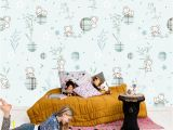 3d Elephant Wall Mural 3d Lazy Dog 883 Aj Wallpaper