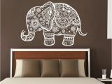 3d Elephant Wall Mural Hindu Idol Wall Mural for Peace and Harmony
