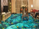 3d Floor Murals for Sale 3d Flooring Custom Wallpaper Scenery for Walls Ocean World 3d Floor
