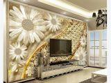 3d Floral Wall Murals 3d Wallpaper Custom 3d Wall Murals Wallpaper Mural Transparent Floral Jewelry Diamond 3d Living Room Tv Background Mural Wallpaper Best Desktop