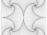 3d Geometric Design Coloring Pages Adult Coloring Book Pages Geometric